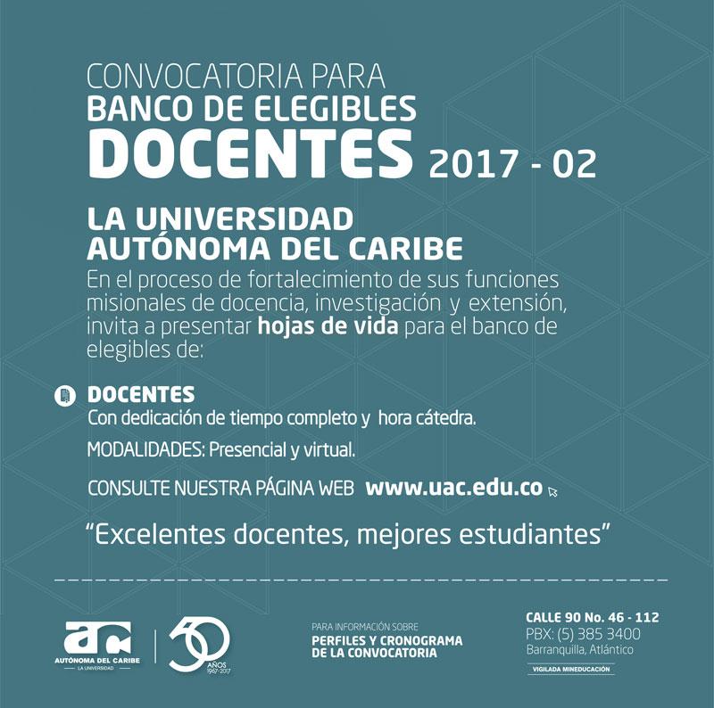 Afacom convocatoria docente en uniaut noma del caribe for Convocatoria docentes exterior